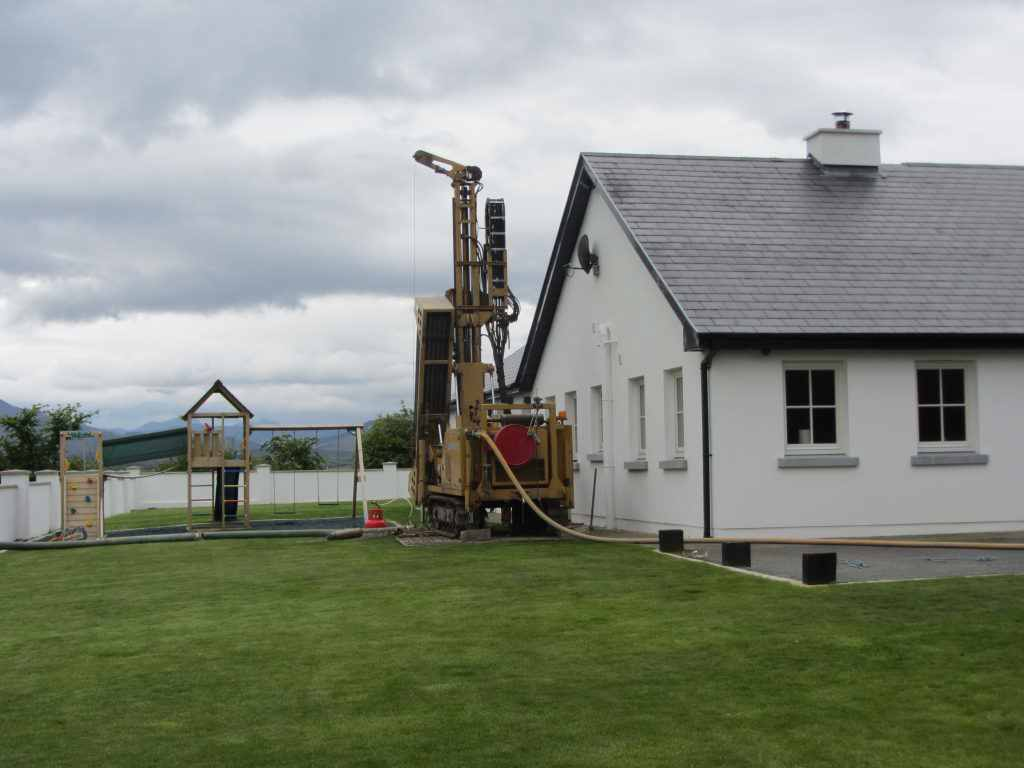 Domestic well drilling